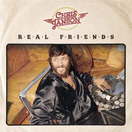"CHRIS JANSON SHARES ""REAL FRIENDS"" WITH HIS REAL FRIENDS: ALBUM AVAILABLE GLOBALLY TODAY"