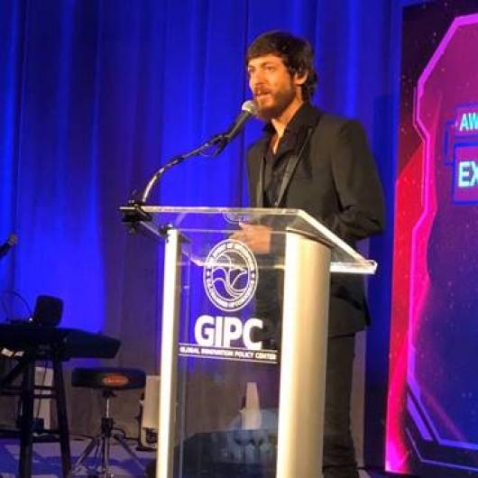 CHRIS JANSON HONORED WITH EXCELLENCE IN CREATIVITY AWARD AT 2019 IP CHAMPIONS GALA IN WASHINGTON D.C.